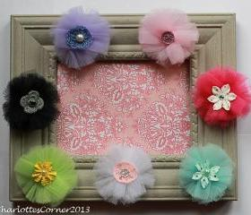 Tulle Hairclips (FREE shipping!)